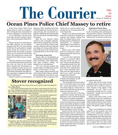 Delmarva Courier - Jul 22, 2020