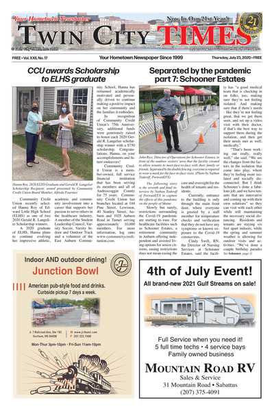 Twin City Times - Jul 23, 2020