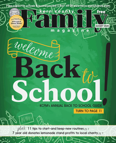 Kern County Family Magazine - August 2020