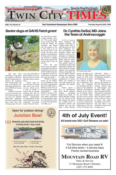 Twin City Times - Aug 6, 2020