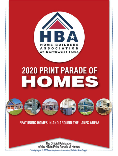 Lakes News Shopper - Home Builders Association of Northwest Iowa - Aug 10, 2020