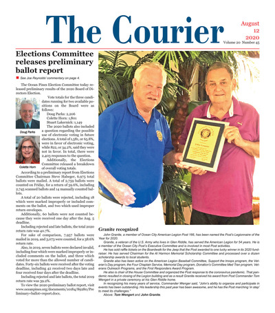 Delmarva Courier - Aug 12, 2020