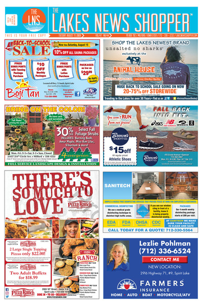Lakes News Shopper - Aug 11, 2020