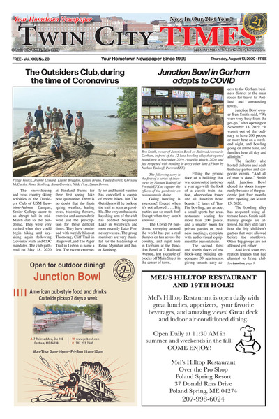 Twin City Times - Aug 13, 2020