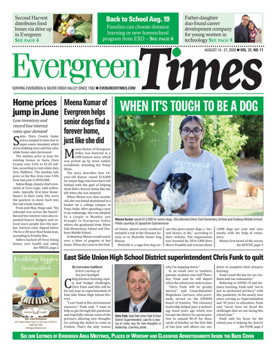 Evergreen Times - Aug 14, 2020