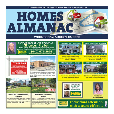 News-Herald - Special Sections - Homes Almanac - Aug 2020