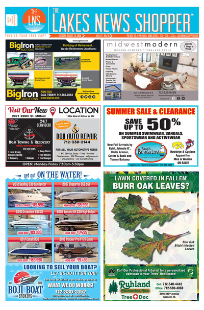 Lakes News Shopper - Aug 18, 2020