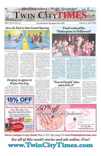 Twin City Times - Feb 18, 2016