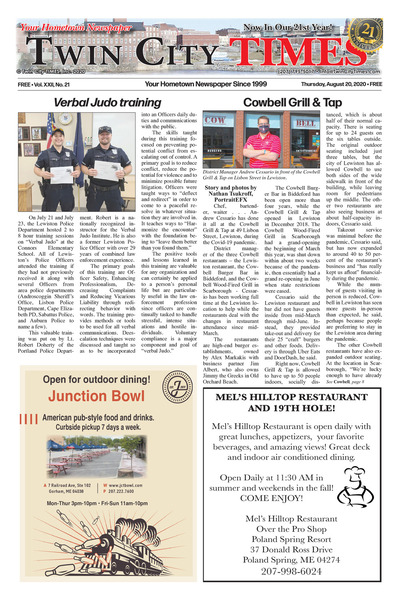Twin City Times - Aug 20, 2020