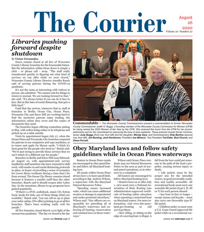 Delmarva Courier - Aug 26, 2020
