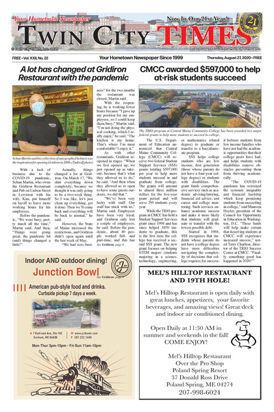 Twin City Times - Aug 27, 2020