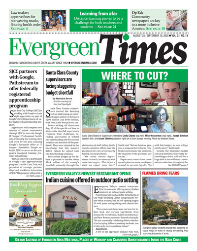 Evergreen Times - Aug 28, 2020