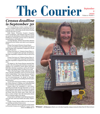 Delmarva Courier - Sep 2, 2020