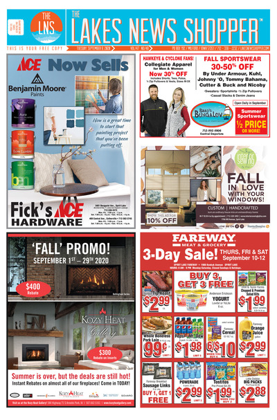 Lakes News Shopper - Sep 8, 2020