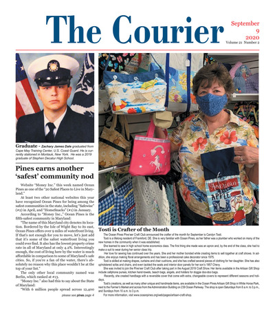 Delmarva Courier - Sep 9, 2020