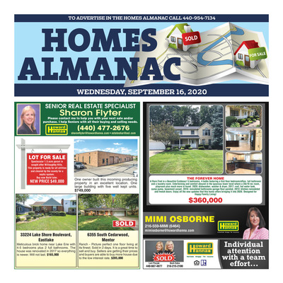 News-Herald - Special Sections - Homes Almanac - Sept 2020