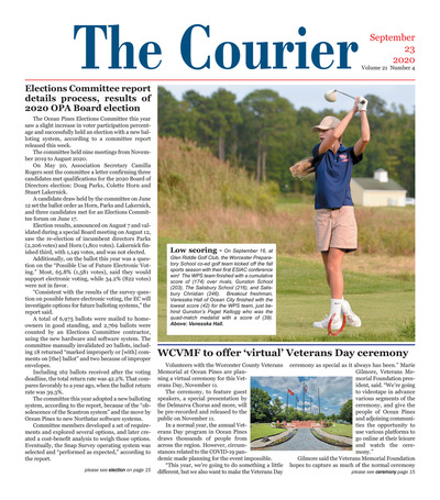 Delmarva Courier - Sep 23, 2020