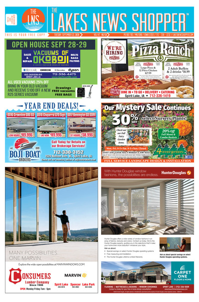 Lakes News Shopper - Sep 22, 2020