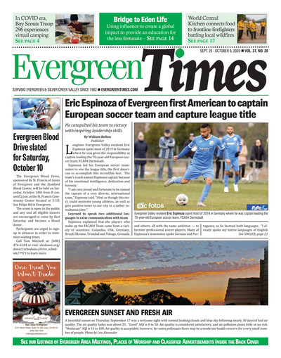 Evergreen Times - Sep 25, 2020
