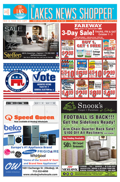 Lakes News Shopper - Sep 29, 2020