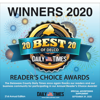 Delco Daily Times - Special Sections - Best of Delco - 2020