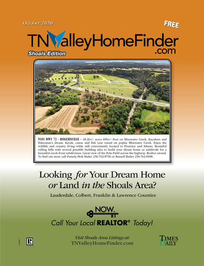 Times Daily - Special Sections - TNValley HomeFinder Shoals Edition October 2020