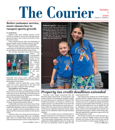 Delmarva Courier - Oct 7, 2020