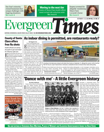 Evergreen Times - Oct 9, 2020