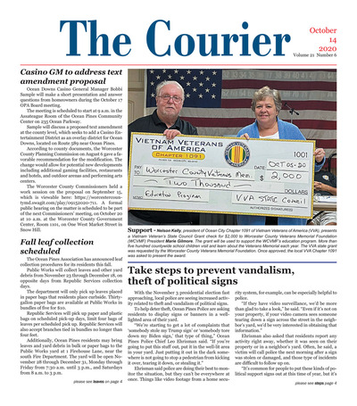 Delmarva Courier - Oct 14, 2020