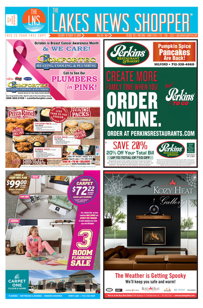 Lakes News Shopper - Oct 13, 2020