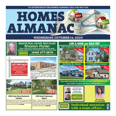 News-Herald - Special Sections - Homes Almanac - Oct 2020