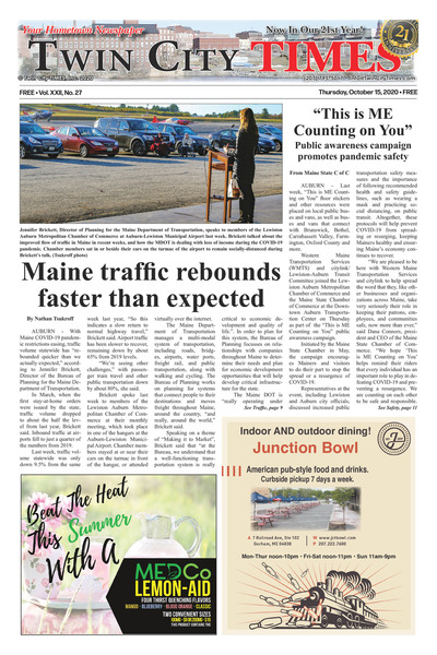 Twin City Times - Oct 15, 2020