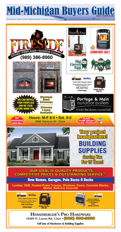 Mid-Michigan Buyers Guide - Oct 25, 2020