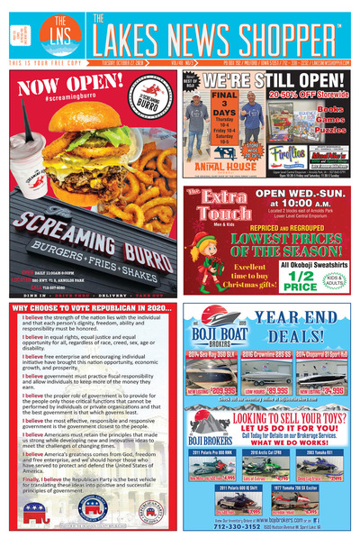 Lakes News Shopper - Oct 27, 2020
