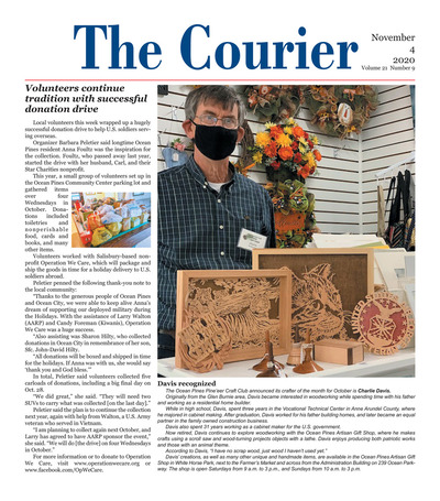 Delmarva Courier - Nov 4, 2020