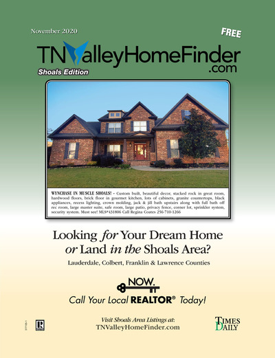 Times Daily - Special Sections - TNValley HomeFinder Shoals Edition Nov 2020