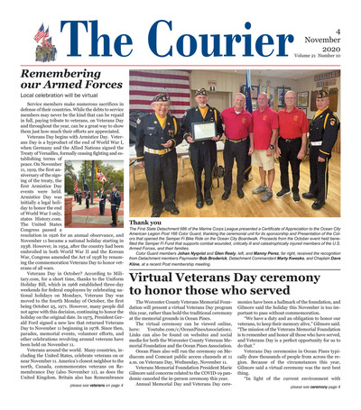Delmarva Courier - Nov 11, 2020