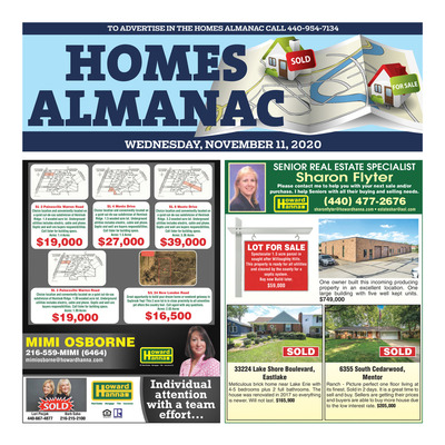 News-Herald - Special Sections - Homes Almanac - Nov 2020
