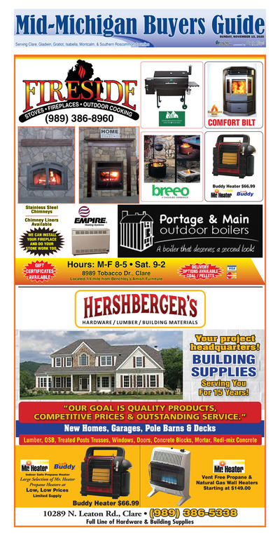 Mid-Michigan Buyers Guide - Nov 15, 2020