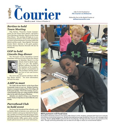 Delmarva Courier - Mar 2, 2016