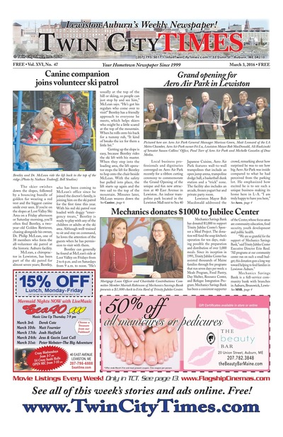 Twin City Times - Mar 3, 2016