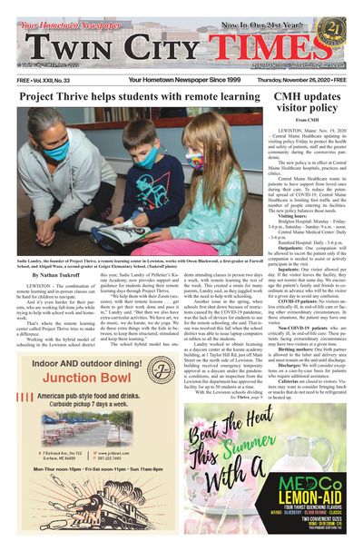Twin City Times - Nov 26, 2020