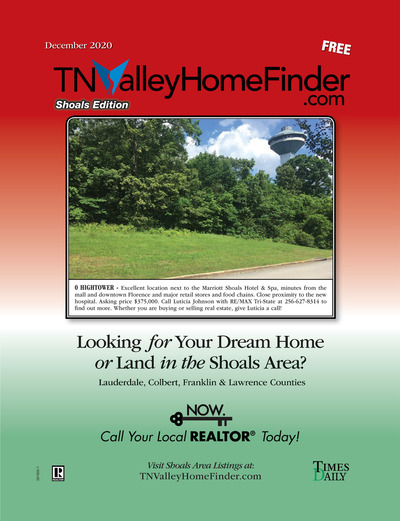 Times Daily - Special Sections - TNValley HomeFinder Shoals Edition Dec 2020