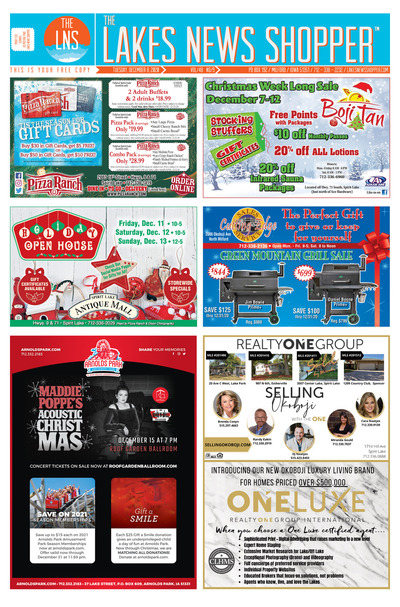 Lakes News Shopper - Dec 8, 2020