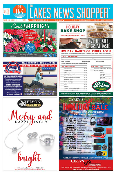 Lakes News Shopper - Dec 15, 2020