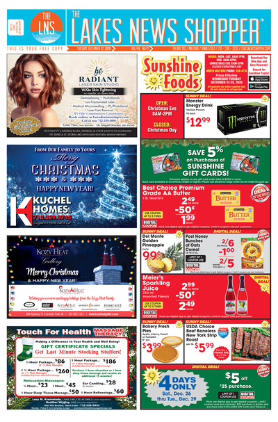 Lakes News Shopper - Dec 22, 2020