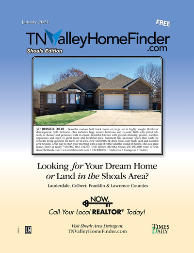 Times Daily - Special Sections - TNValley HomeFinder Shoals Edition Jan 2021