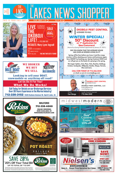 Lakes News Shopper - Jan 12, 2021