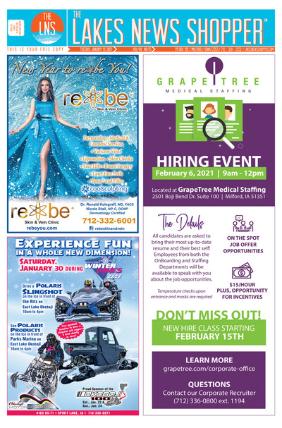 Lakes News Shopper - Jan 19, 2021