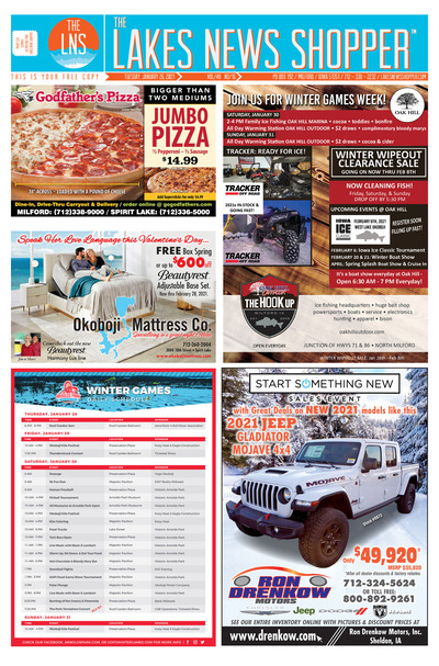 Lakes News Shopper - Jan 26, 2021